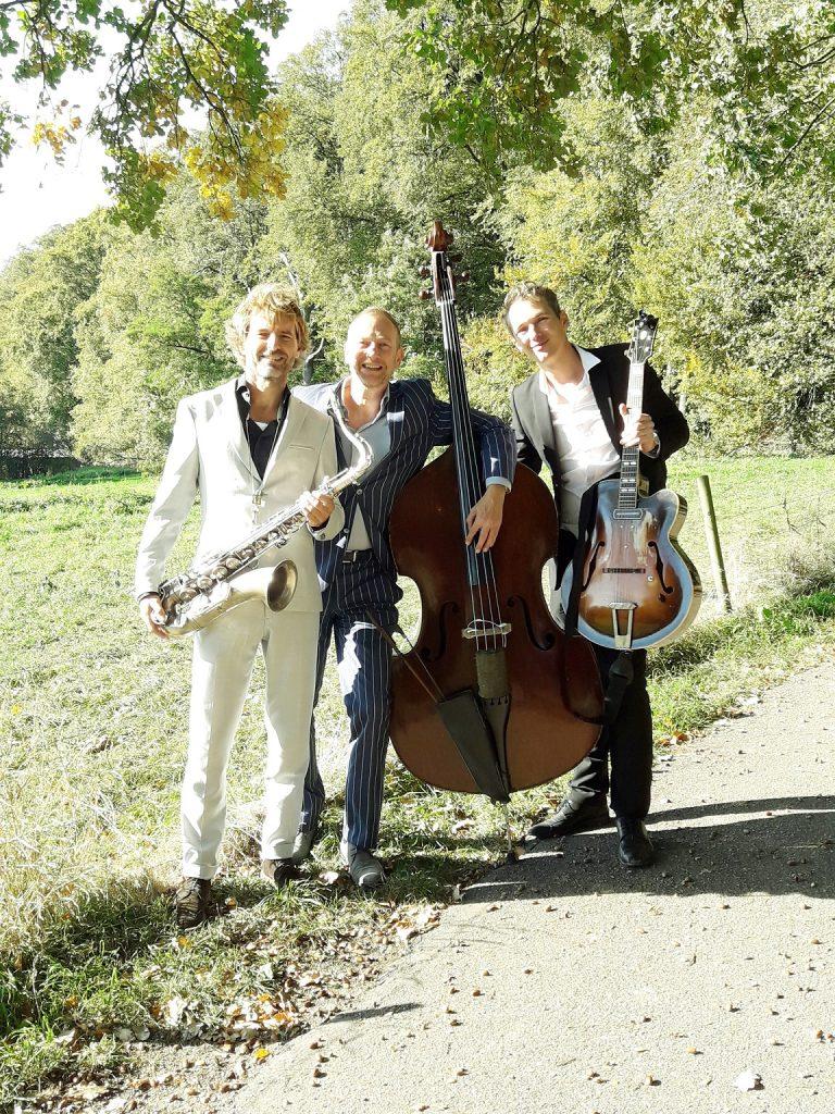 jazzband jazztrio jazz band trio boeken feest bruiloft België Amsterdam Antwerpen