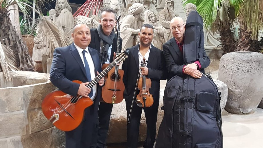 gipsy jazz band Zandverhalen